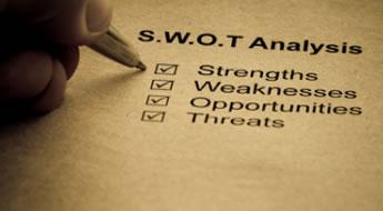 Análise SWOT no e-commerce como ferramenta de planejamento e desenvolvimento de lojas virtuais.