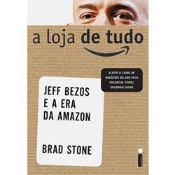 Livro a Loja de Tudo, uma história sobre Jeff Bezos e a Amazon